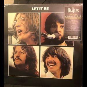 "NWT Beatles ""Let it Be"" vinyl"
